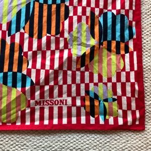 Missoni Accessories - Missoni cotton handkerchief cotton sqaure scarf